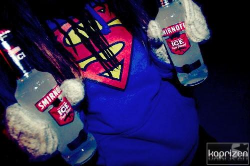 Фото девушка с алкоголем на аву