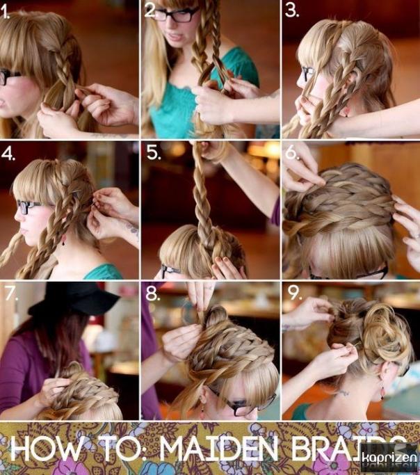 Причёски на выпускной инструкция